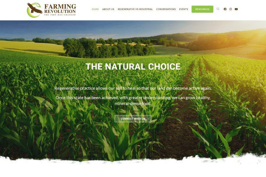 Farming Revolution Website