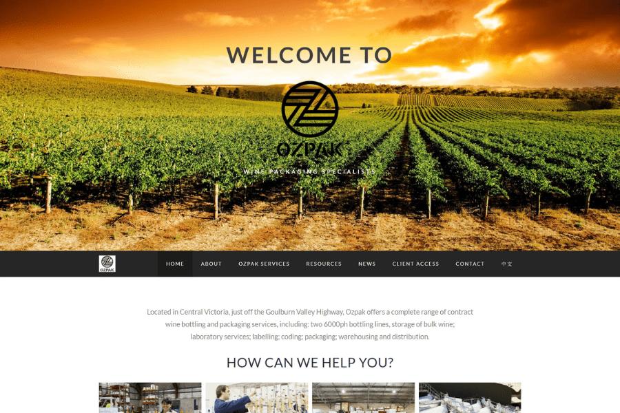 OzPak Website by Kee Websites