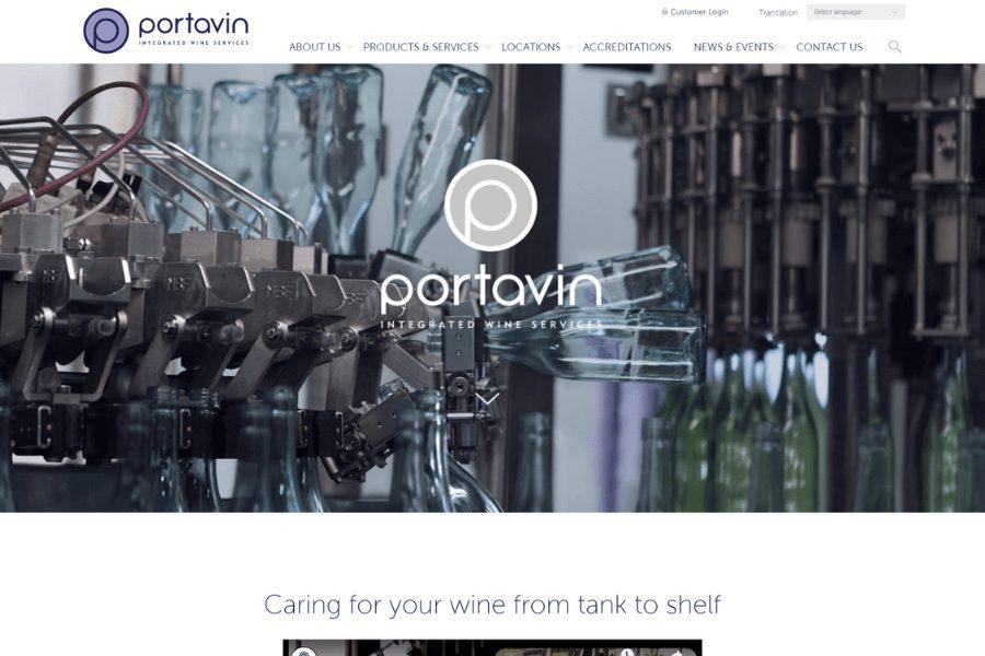 Portavin Website-min